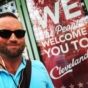 D.C. DeWitt at the Republican National Convention in Cleveland.