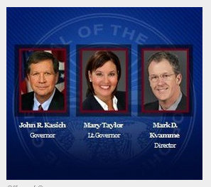 Gov. John Kasich selected Mark Kvamme to be development director until the Ohio Constitution ruined that plan. Kvamme moved to Kasich's office then to JobsOhio then to his private venture capital firm, Drive Capital.