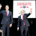 Ohio Debate Governor Mike DeWine Richard Cordray Marietta
